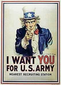 I-Want-You-Uncle-Sam-Embossed-Large-Metal-Sign-400mm-x-300mm-na
