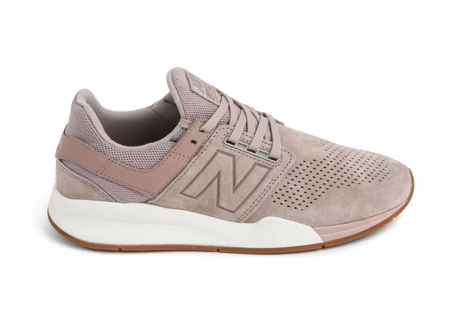 New Balance 247 Luxe Leather in brown MS247LA BNIB Free Shipping