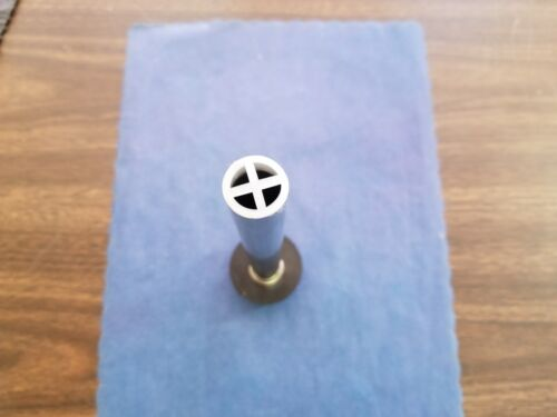 """DRAIN OVERFLOW PIPE HEAVY DUTY STAINLESS 8/"""" FITS 1 1//2/"""" BAR SINK DRAIN TUBE HOLE"""