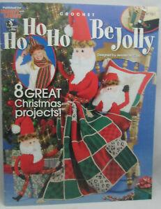 Christmas In July Ideas.Ho Ho Ho Be Jolly Annie S Attic Crochet Patterns Christmas In July 8 Ideas