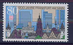 ALEMANIA-RFA-WEST-GERMANY-1994-MNH-SC-1823-Frankfurt