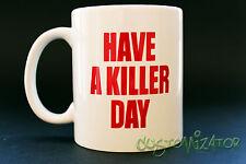 MUG CUP TAZA DEXTER MORGAN BLOOD SEASON TEMPORADA 1 2 3 4 5 6 HAVE A KILLER DAY