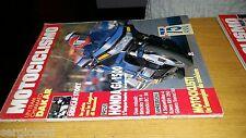 MOTOCICLISMO anno 1989 #  1-DAKAR-SIDECAR STORY-HONDA GL1500-KAWA KR1250-BIMOTA