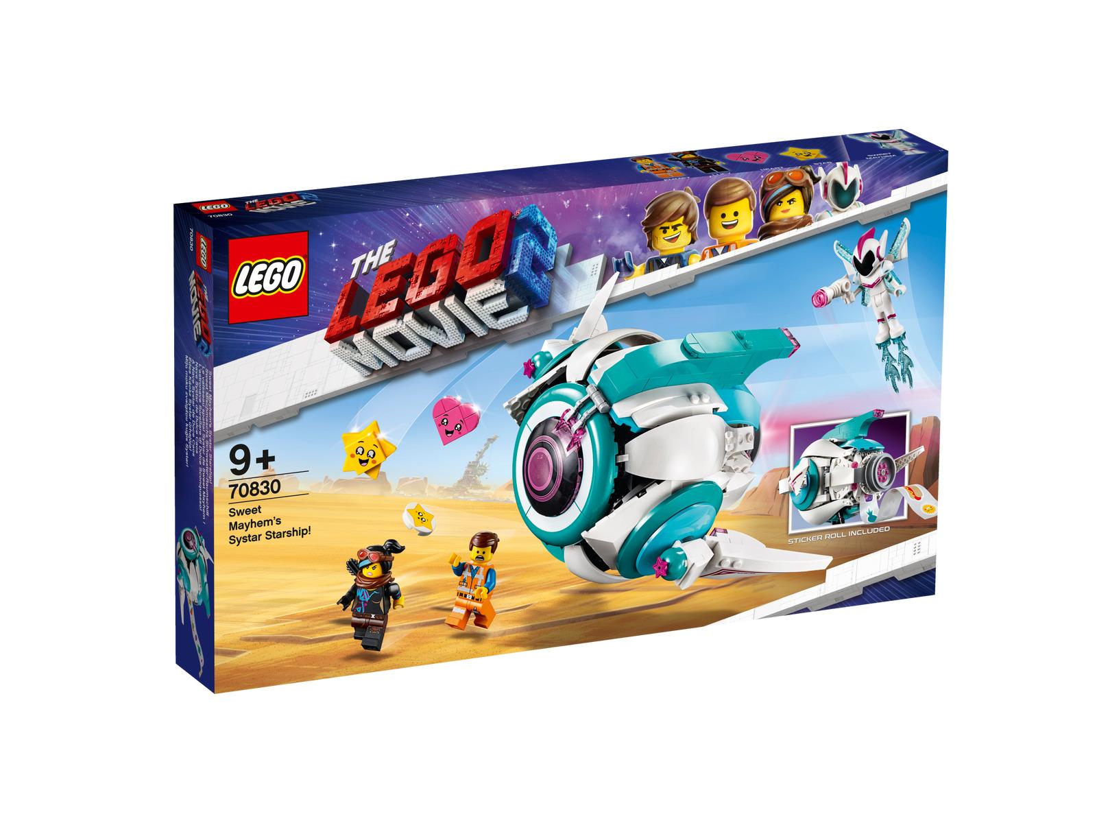 LEGO® MOVIE 2™ 70830 Sweet Mischmaschs Systar Raum 9+ Jahre 502 Teile Neu In OVP