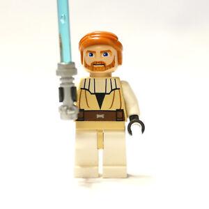 Wan Kenobi für Minfigur 3626bpx325 Star Wars Neu Lego Kopf Obi