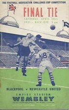 1950-1999 FA Cup Final Football Programmes