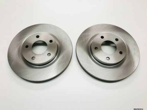 2 x Front Brake Discs for Dodge Caliber PM 2007-2012  BBD//PM//001A