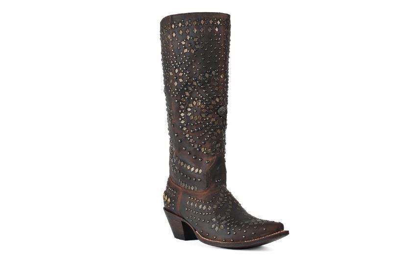 risparmia il 35% - 70% di sconto Johnny Ringo Donna    Knee High Studded stivali  JR922-68T  Spedizione gratuita al 100%