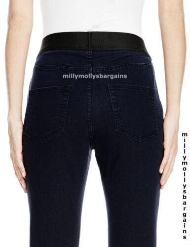 30 New Womens Marks /& Spencer Blue Jeggings Size 10 Medium Leg 31 29