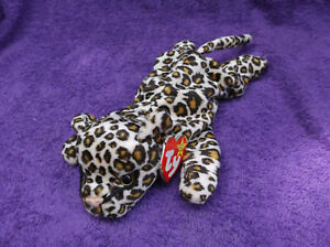 TY Beanie Babies Freckles the Leopard 1996 Style 4066 retired with ... 5d085d073444