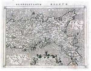Antique-map-Neapolitanum-Regnum