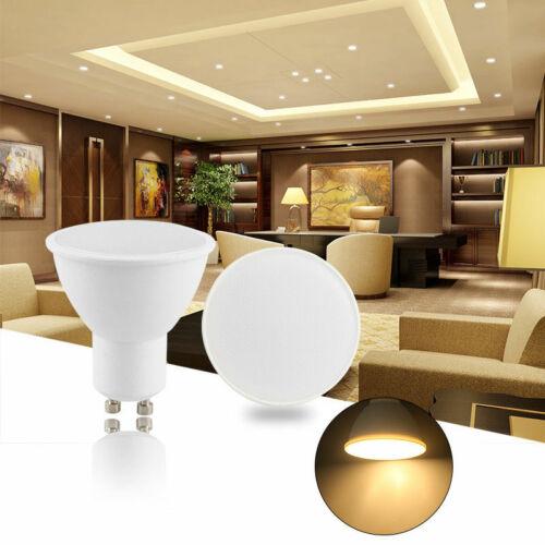 LED GU10 5W 3W 230V Dimmbar Leuchtmittel Lampe Spot Birne Strahler 4//8 Set Pack