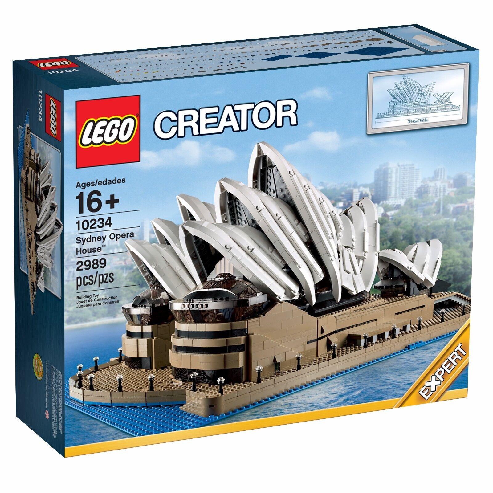 Lego Sydney Opera House Creator 10234 Retired Set Brand New Sealed Boxed