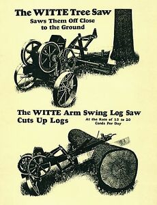 Witte-Tree-Saw-Operating-Manual-and-Parts-List