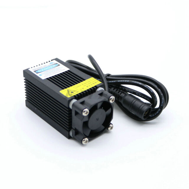 Adjustable Focal 500mW Blue-Violet Laser Module for Industrial Engraving Machine