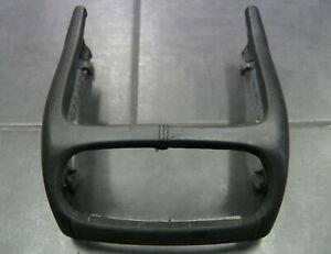 Porsche-Cayenne-Mittelkonsole-Blende-Verkleidung-hinten-Leder-Alcantara-955-9PA