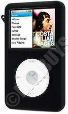 BLACK Silicone skin case Cover for new iPod Classic 80GB 120G 160G