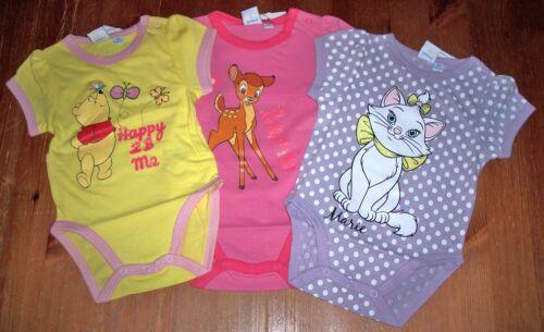 Disney Baby Mädchen Body ~ Winnie Pooh Bambi Marie ~ Gr 62-92