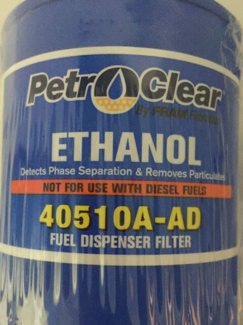 12 in a case Petro Clear Ethanol Gasoline Fuel Dispenser Filter 40510A-AD CASE