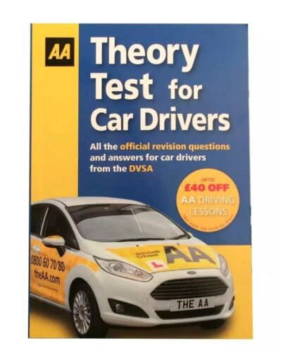 NEW AA THEORY TEST BOOK FOR CAR DRIVERS FROM THE DVSA BEST GIFT