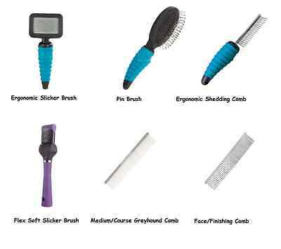 Professional Grooming Brushes & Combs for Dogs Brush & Comb Dog Groomer Tools