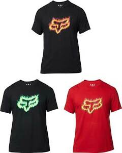 Fox-Racing-Flame-Head-T-Shirt-Short-Sleeve-Graphic-Tee-Mens-Motocross-MX-MTB