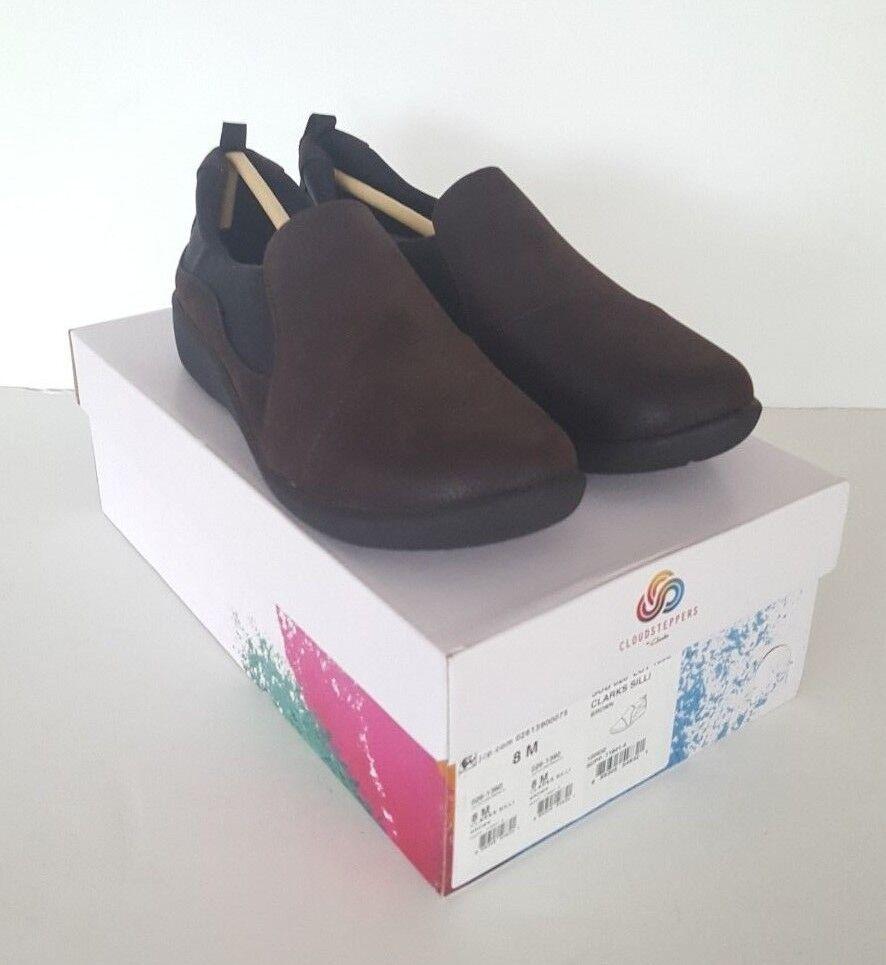 prezzo più economico Donna Donna Donna  Cloudsteppers Clarks Sillian Paz Dark Marrone Slip-On scarpe, Dimensione 8 M  più sconto