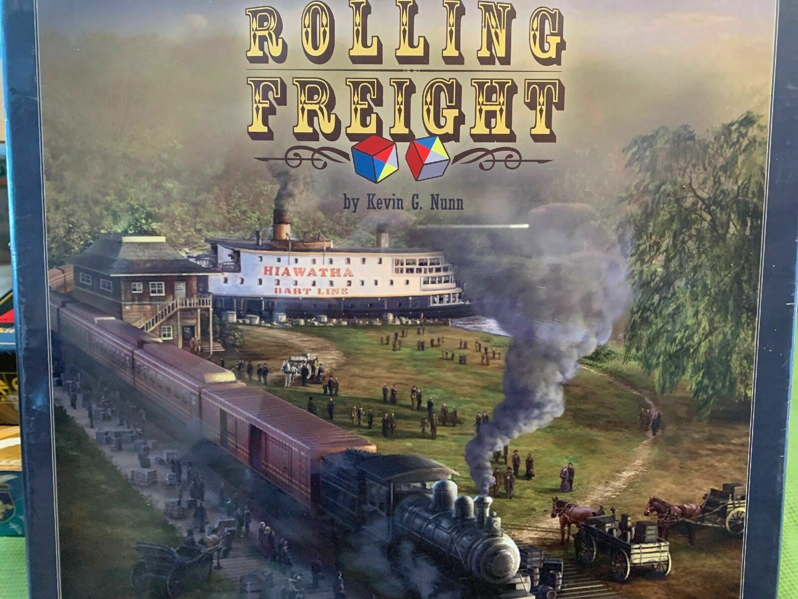 Rolling Freight Board Juego - NEW SEALED