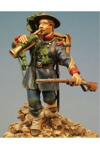 Bersaglieri-Trumpeter-at-Capture-of-Rome-Tin-Painted-Toy-Soldier-Miniature-Art