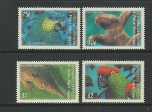 Grenada Grenadines - 2000, Sud Americana Fauna Set - MNH - Sg 3145/7, 3160