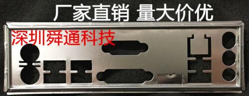 Hot IO I//O Shield Back Plate BackPlate Plates Blende Bracket for MSI A78M-E35 V2
