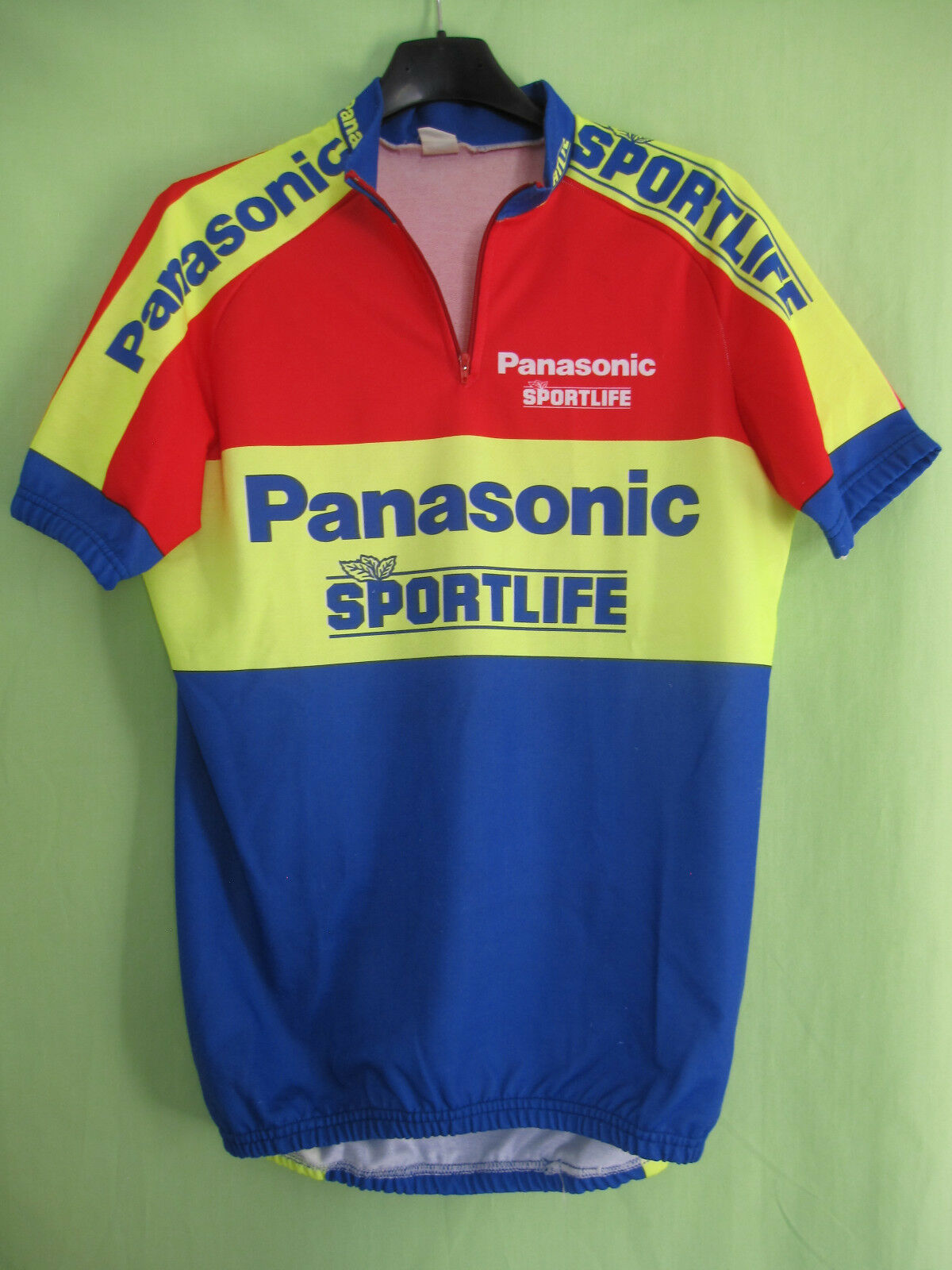 Maillot cycliste Panasonic Sportlife Team 1990 Vintage Jersey cycling - XL