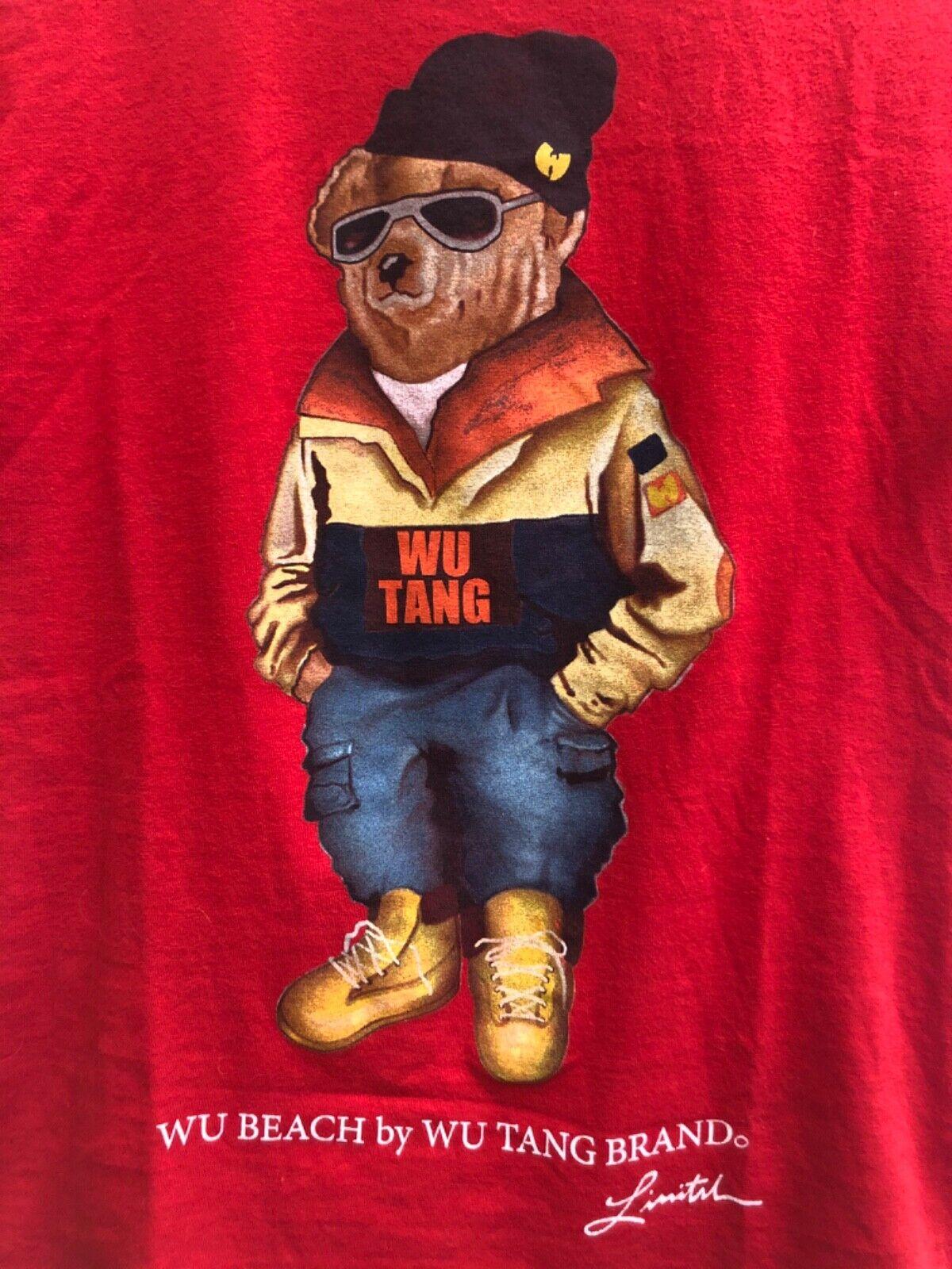 Vintage Wu Beach Wu Tang Wear Polo Bear Ralph Lau… - image 3