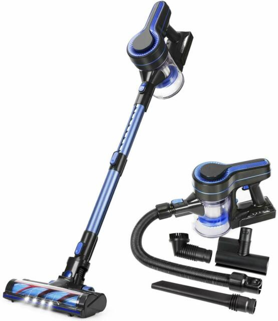 MOOSOO Cordless Vacuum 4 in 1 Powerful Suction