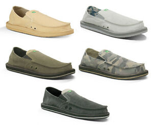 Sanuk-Mens-Sandals-Pick-Pocket-Sidewalk-Surfers-Slip-on-Footwear-Slippers