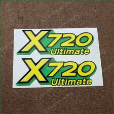 John Deere X720 Lower Hood Decal Set For A X720 Tractor M154070