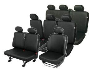 Kunstleder Sitzbezüge CITROEN JUMPY 9 Sitzbezug Schonbezüge Schonbezug