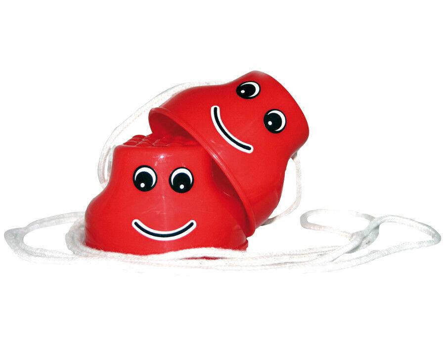 Laufdollis SMILEY Kinderstelzen Laufdosen Becherstelzen Laufstelzen Stelzen Kinderstelzen SMILEY NEU 3a5b6c