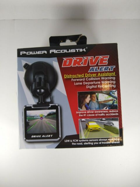 Power Acoustik Drive Alert Distracted Driver Assistant Nib For Sale Online