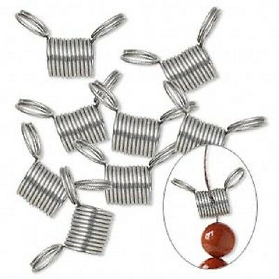 Bead Stopper Stainless Steel 7mm Jewelry Beading Craft Tool Helper Made in USA
