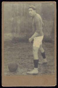 Cabinet-Photo-Football-Player-Sport-RARE-2841