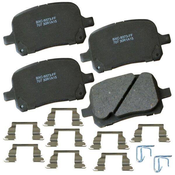 Bendix SBC707 Stop By Bendix Ceramic Brake Pads Pair Left Right Pad PGD707 xm