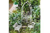 Fairy Garden Miniature Willow Arbor Fairy Gardening Kit Mini Dollhouse