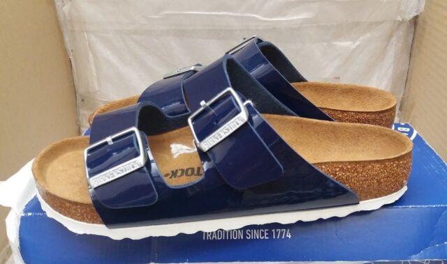 ec041c800720 Birkenstock Arizona Birko Flor Patent Womens Footwear Sandals ...