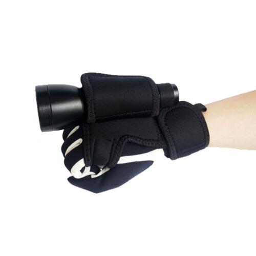 Hand Free Einstellbare Lichthalter Handschuh Für Scuba Diving Torch
