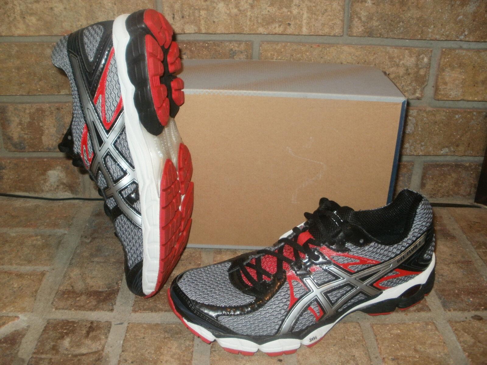 New Asics Gel Flux 2 Uomo Uomo Uomo Running Shoe T518N 7491 Carbon-Lightning-Red  99 10bca2