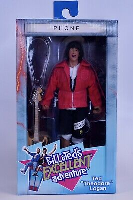 """NECA BILL ET TED/'S EXCELLENT ADVENTURE Ted /""""THEODORE/"""" Logan Solo Action Figure"""