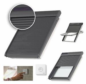 VELUX-Ausenrollladen-SSL-0000S-INTEGRA-Solar-Rollladen-Handsender-Dachfenster