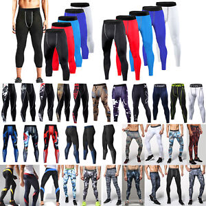 Men-Joggers-Tight-Compression-Skin-Base-Layer-Gym-Leggings-Sports-Trousers-Pants
