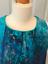 Bnwt Bleu Sarcelle Uk Coast Multi Macie Robe 10 Taille Scenic gwxx7Uzq